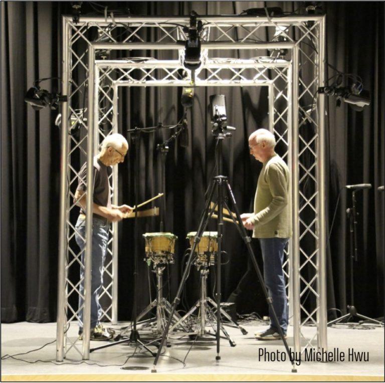 Bob Becker and Russell Hartenberger Trellis - Photo by Michelle Hwu