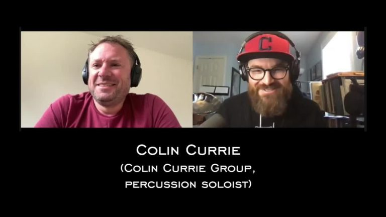 Colin Currie Interview
