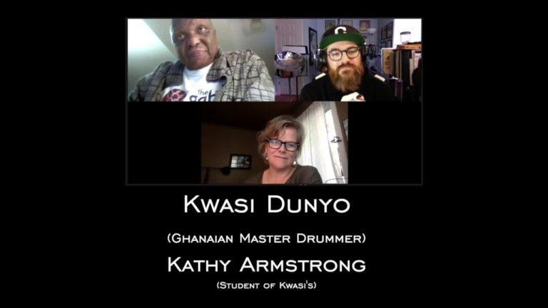 Kwasi Dunyo and Kathy Armstrong