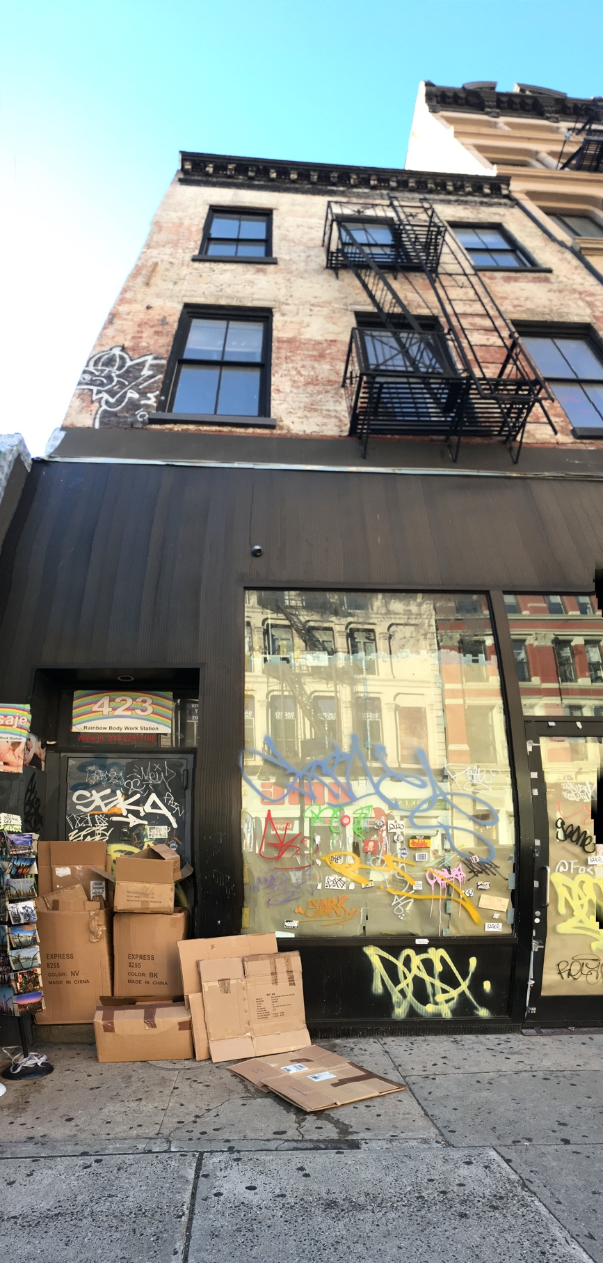 Steve Reich's loft at 423 Broadway in New York City where Drumming was composed and rehearsed.