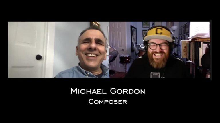 Michael Gordon Conversation