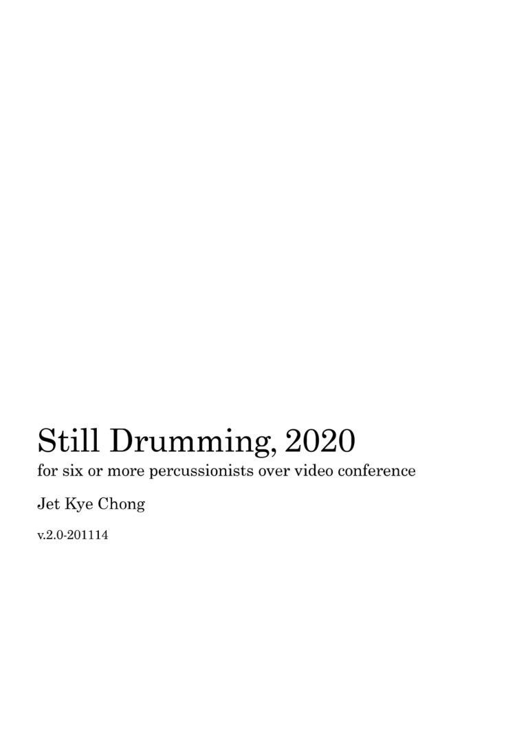 Still-Drumming-2020-v2.0-Score