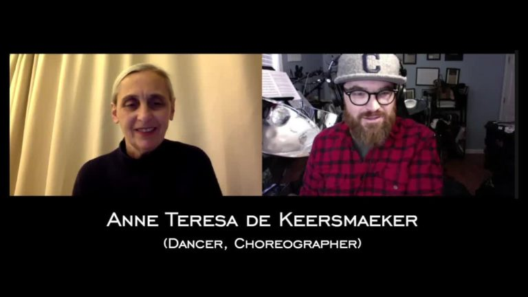 Anne Teresa de Keersmaeker Conversation
