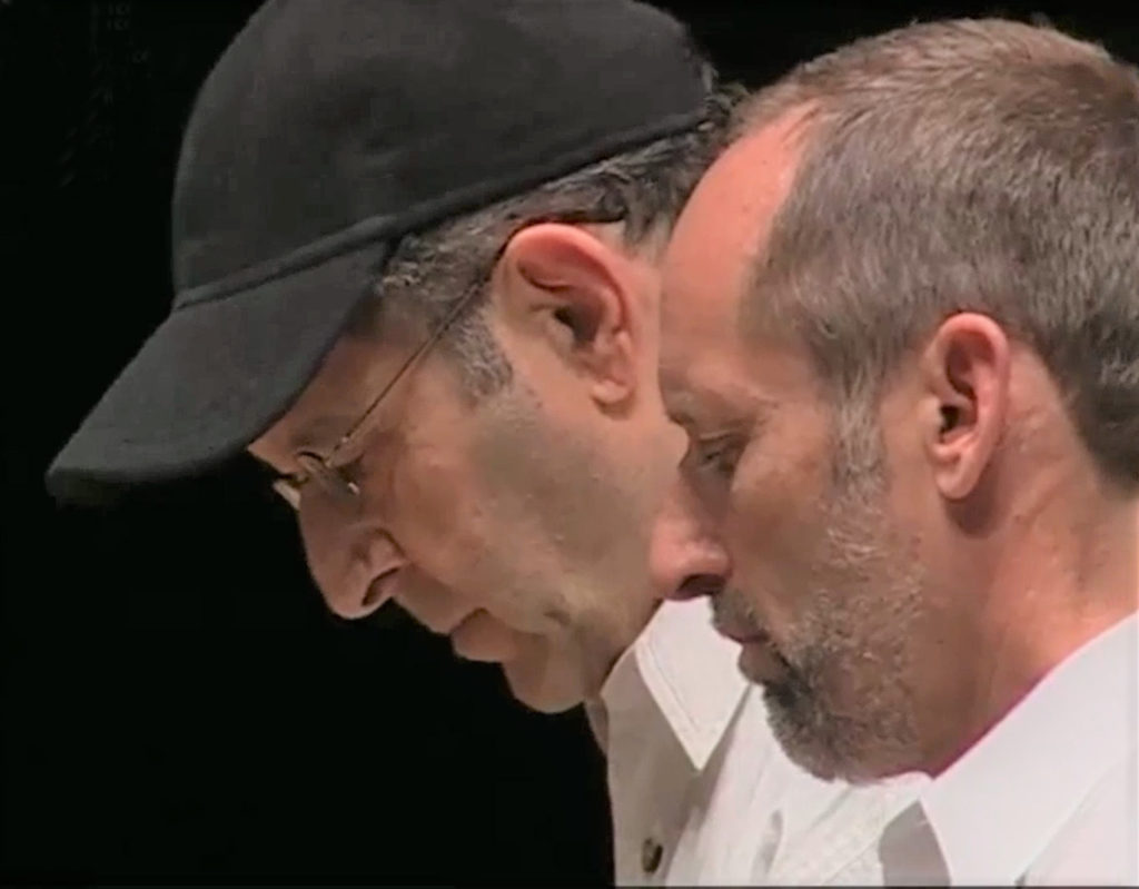 Steve Reich and Gary Schall